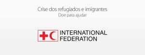 Doações para a crise dos refugiados e imigrantes