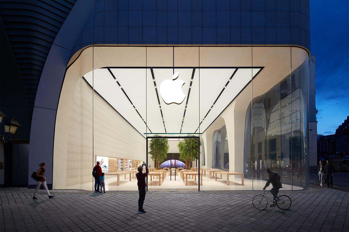 Apple Retail Store - Brussels (em Bruxelas, na Bélgica)