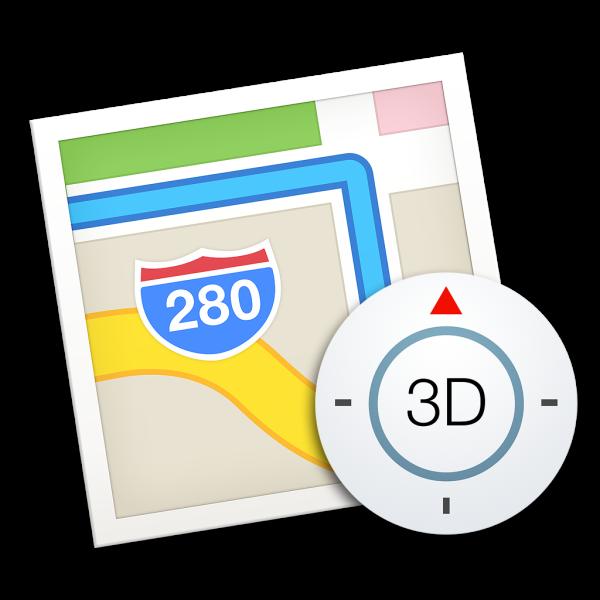 Ícone - Mapas no OS X Yosemite