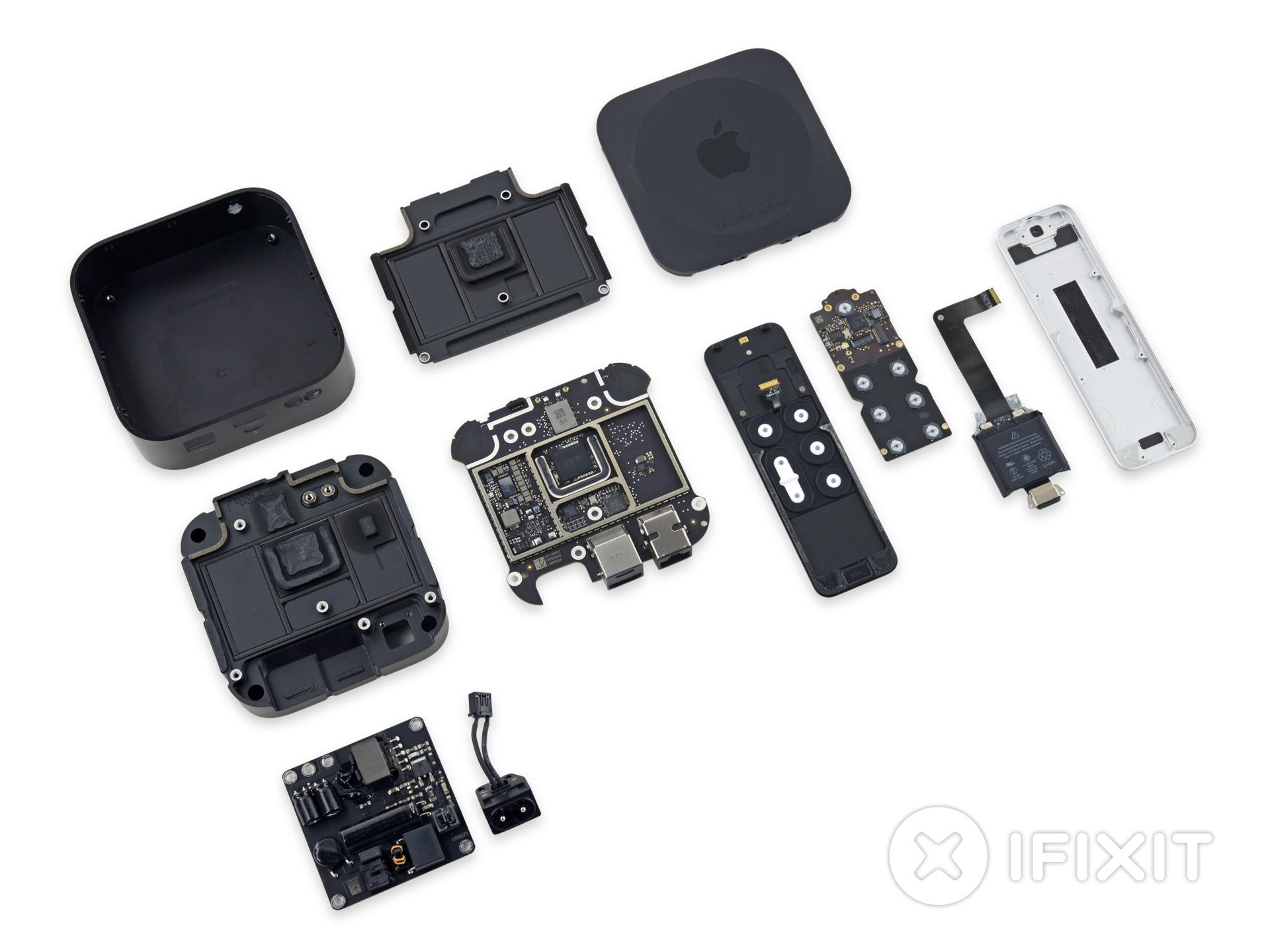 Nova Apple TV desmontada pela iFixit