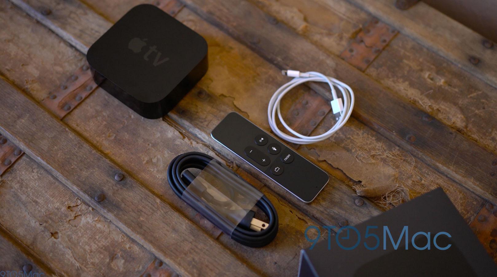 O que há na caixa da Apple TV