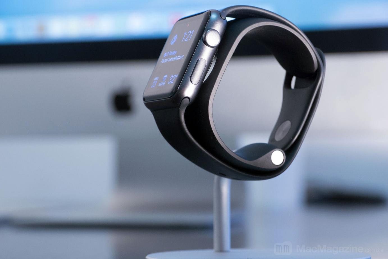 Lounge Dock para Apple Watch, da Just Mobile