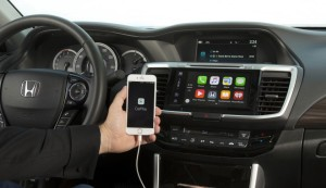 Honda Accord com CarPlay