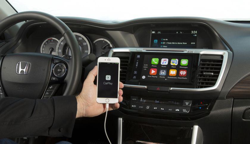 Honda Accord com CarPlay