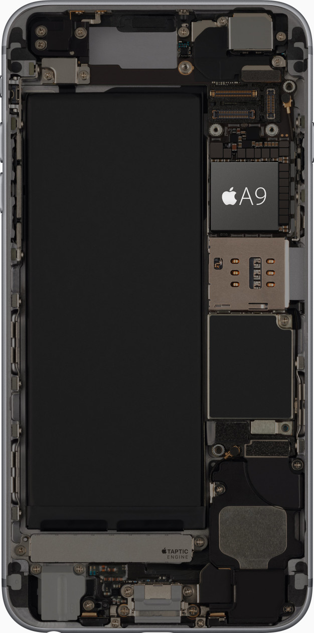 Chip A9, dos iPhones 6s/6s Plus