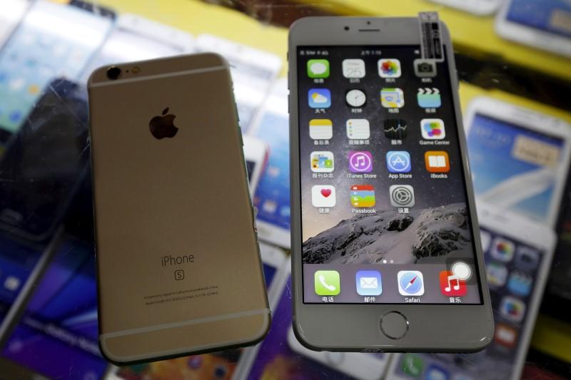 iPhones falsos