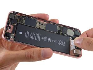iPhone 6s desmontado pela iFixit