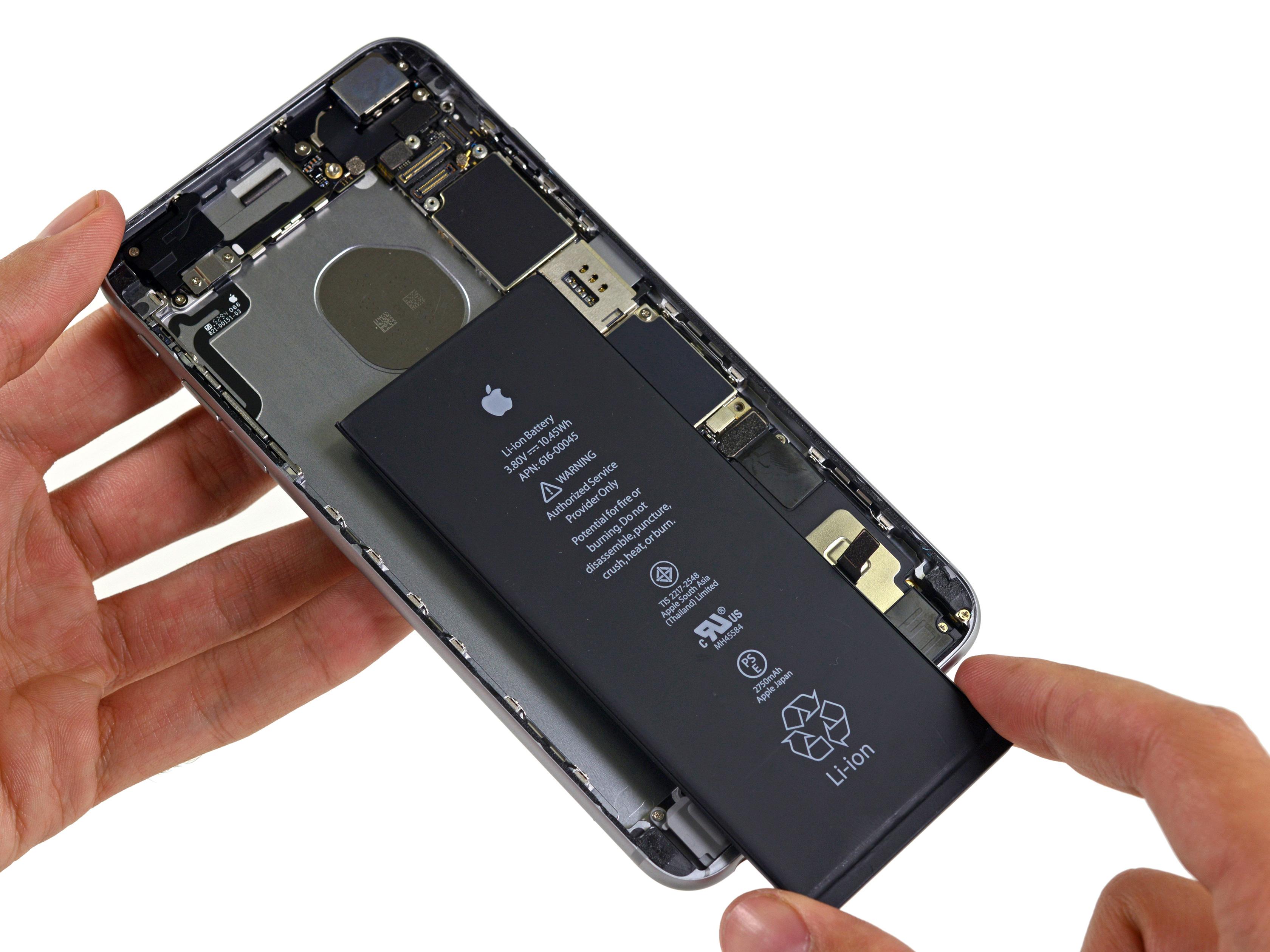 iPhone 6s Plus desmontado pela iFixit