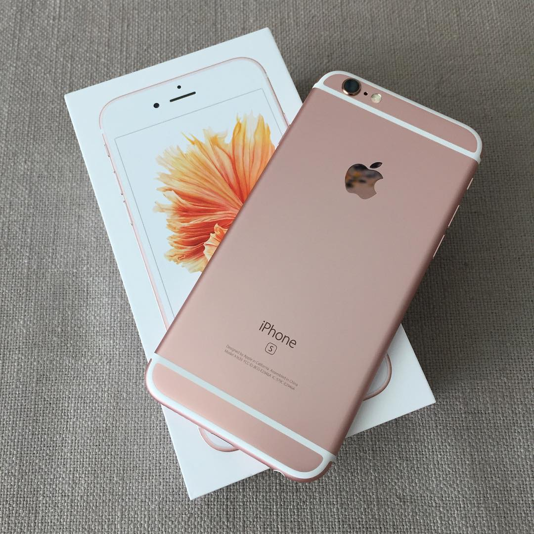 Unboxing do iPhone 6s