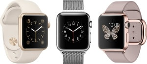 Apple Watches - Sport, Watch e Watch Edition