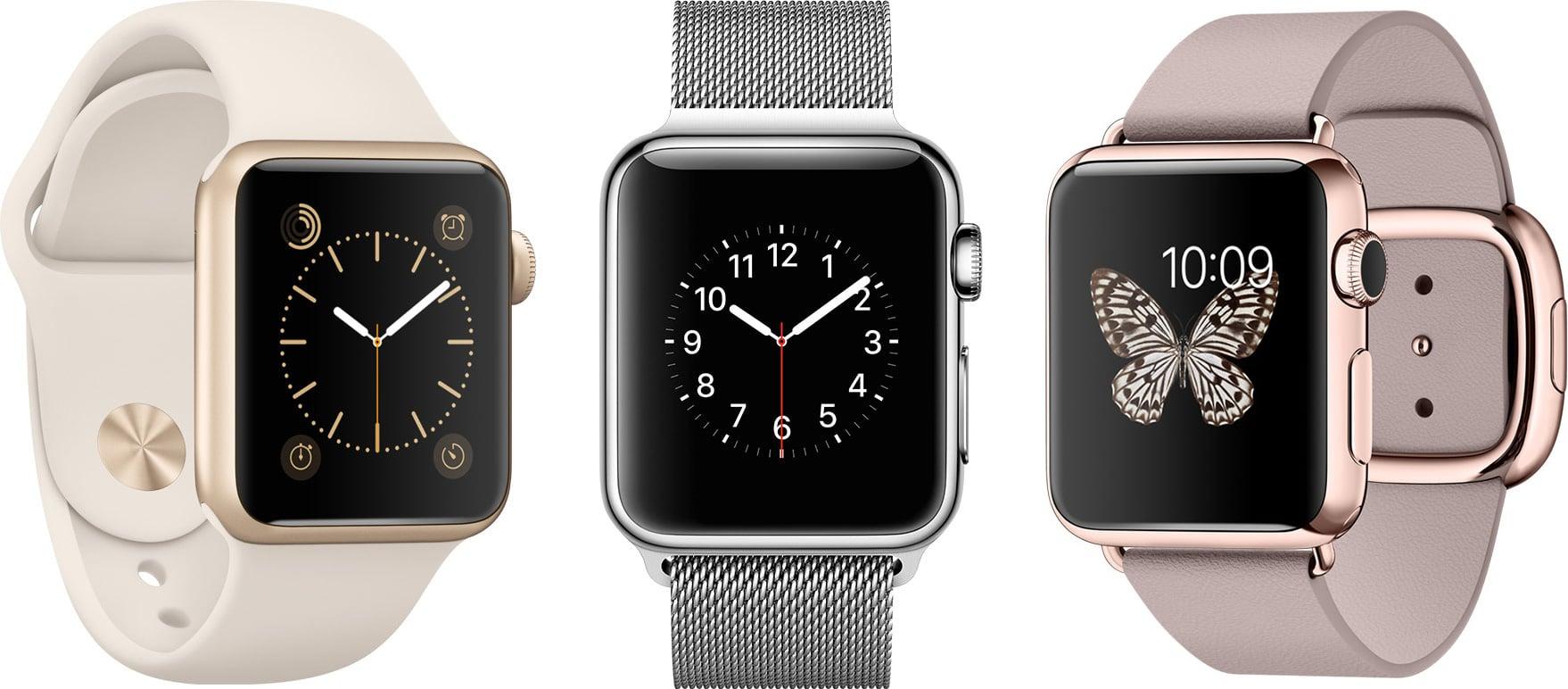 Apple Watches - Sport, Watch e Watch Edition