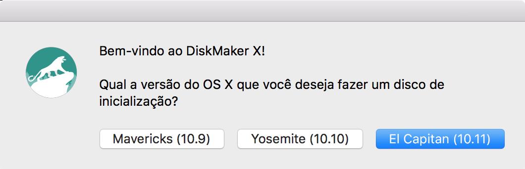 Instalando o OS X El Capitan 10.11