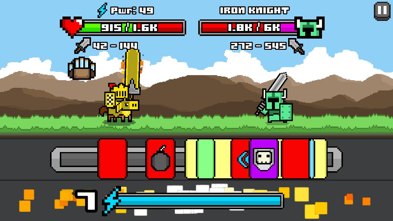 Jogo Combo Quest para iOS
