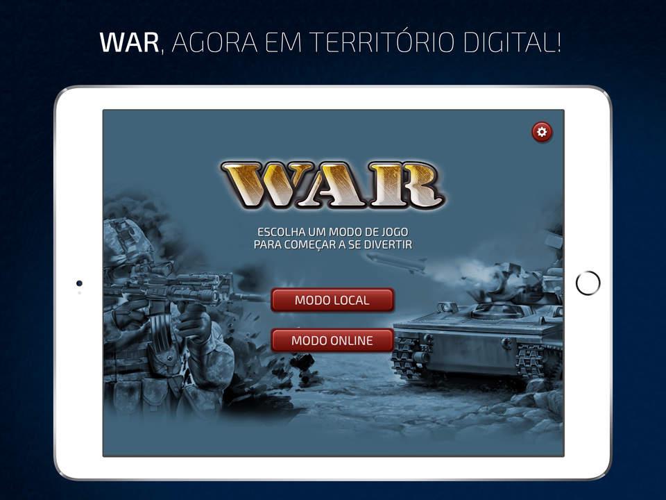 Jogo War para iPads