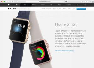 Apple Watch no Brasil dia 16