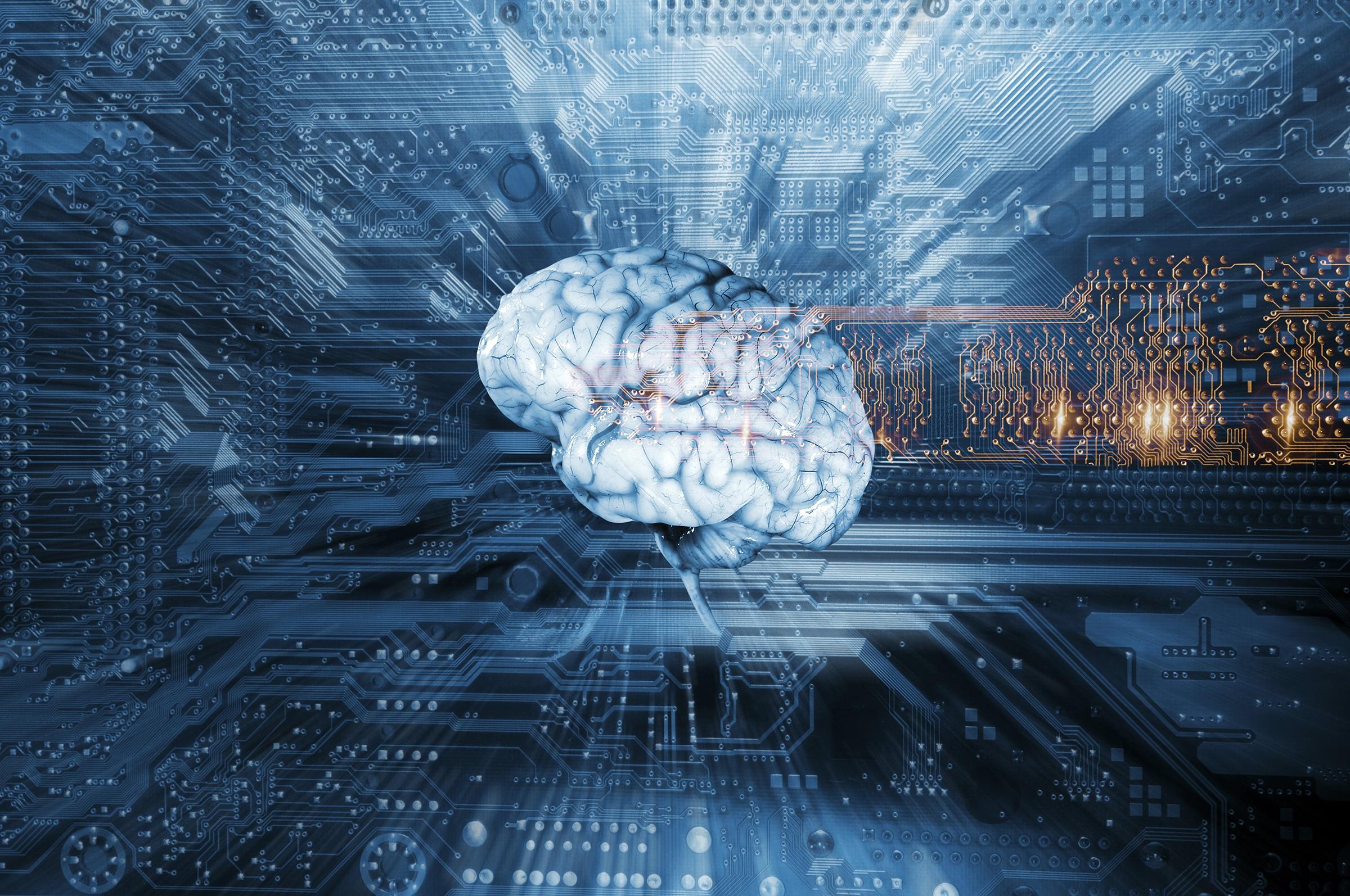 Cérebro de inteligência artificial