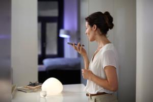 Philips hue controlada pela Siri