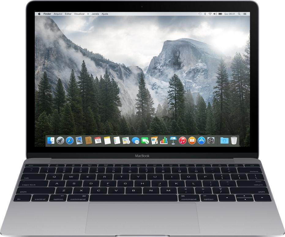 Novo MacBook cinza espacial