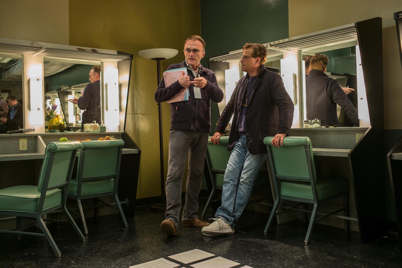 "Danny Boyle e Aaron Sorkin - Filme ""Steve Jobs"""