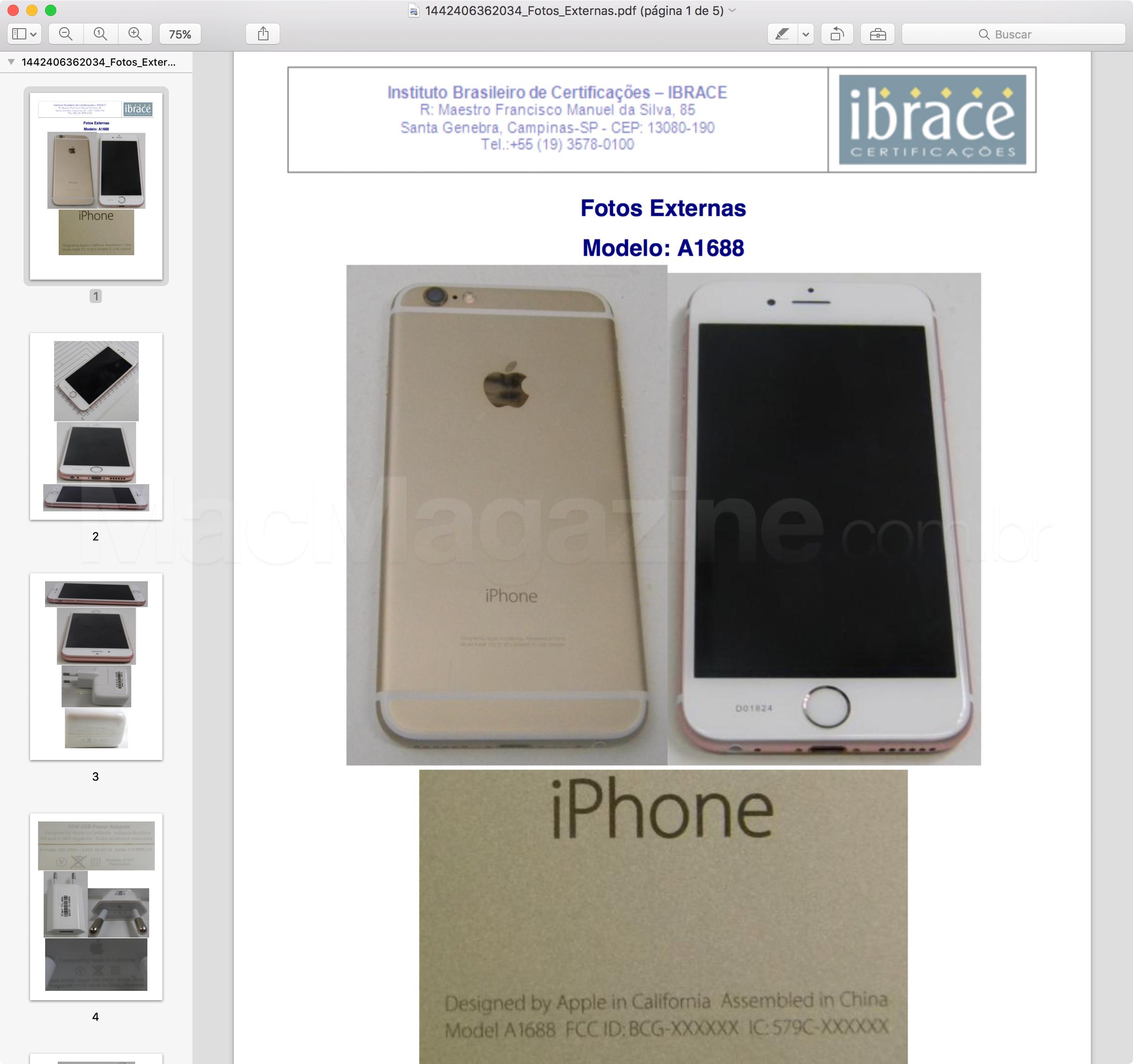 Anatel homologa iPhones 6s e 6s Plus e iPad mini 4