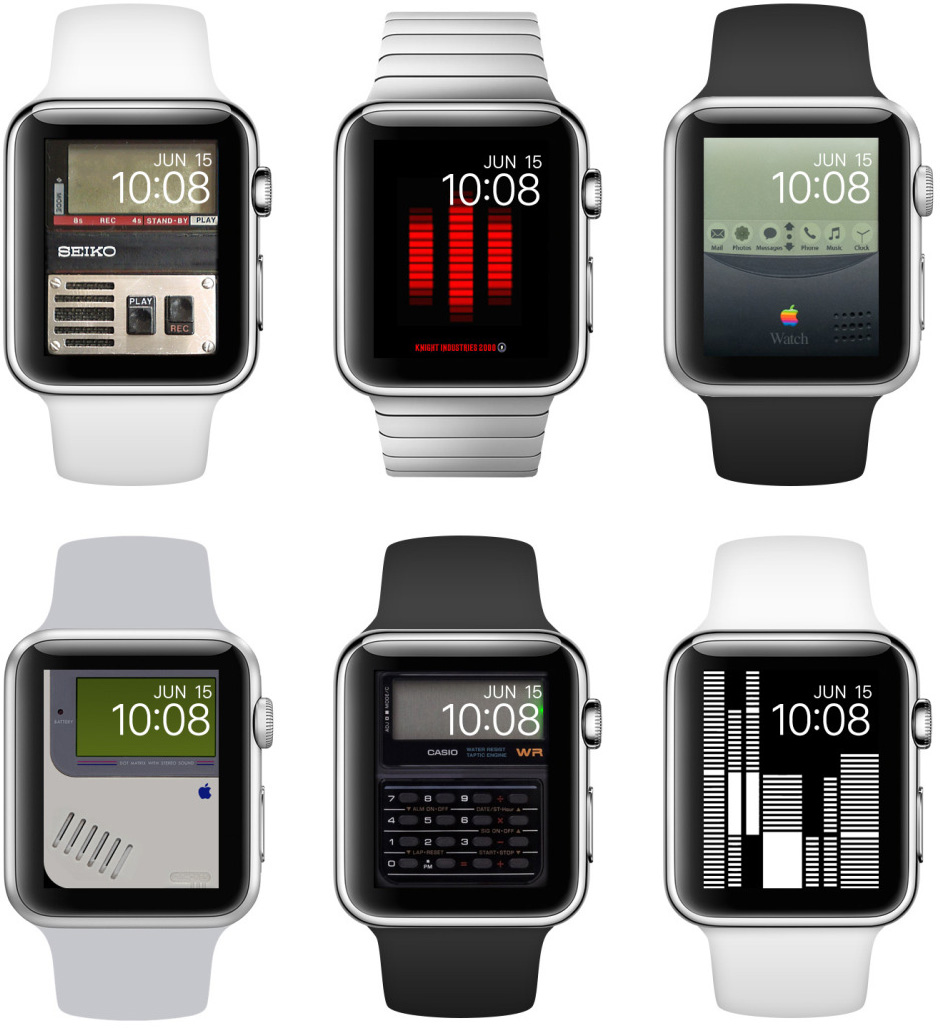 Wallpapers para o Apple Watch