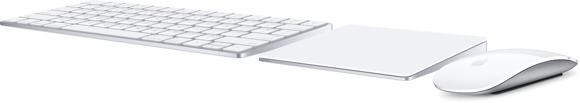 Magic Keyboard, Magic Trackpad 2 e Magic Mouse 2