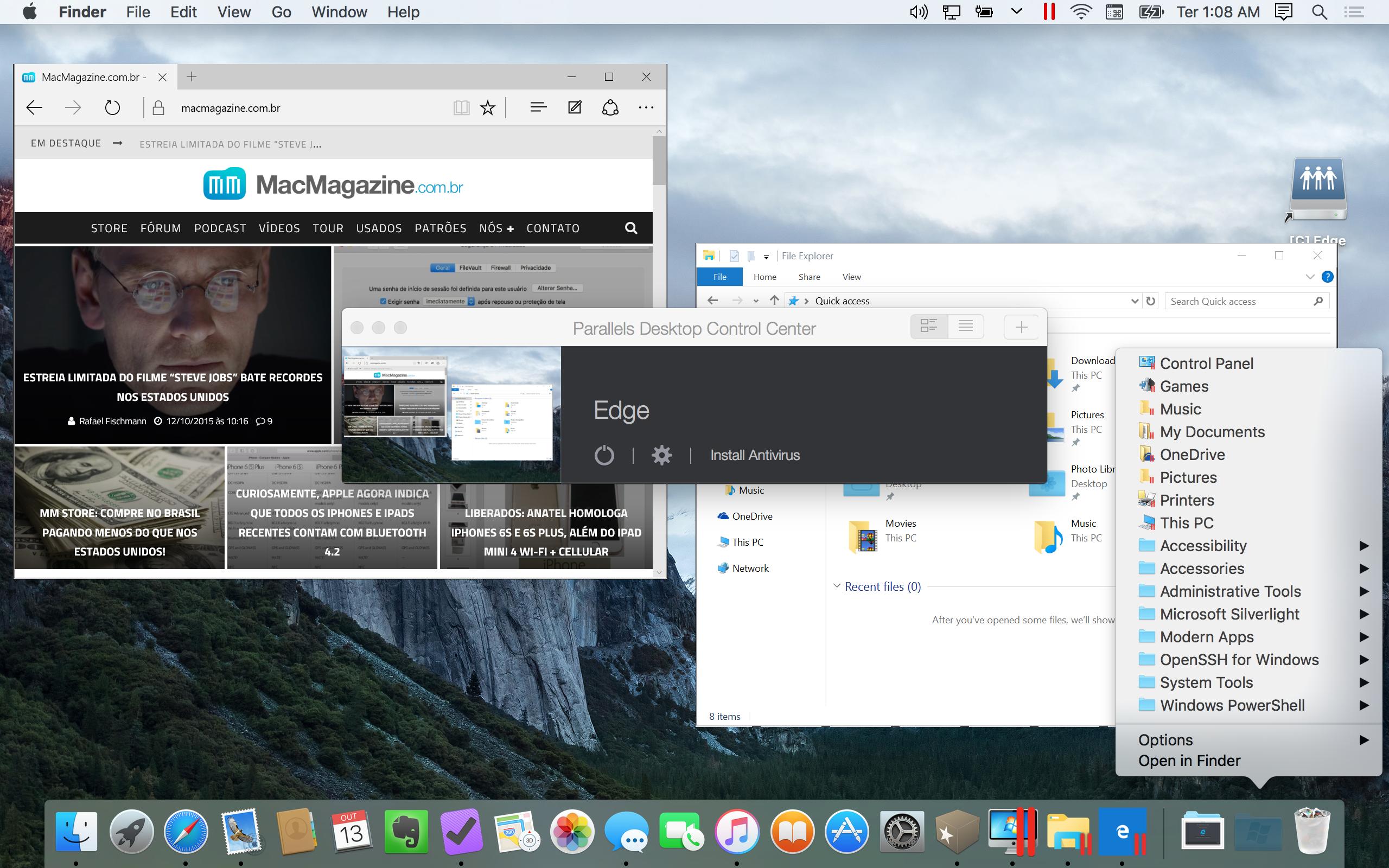 Parallels Desktop 11 para Mac