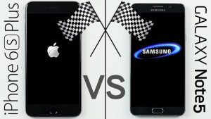 iPhone 6s Plus vs. Galaxy Note 5