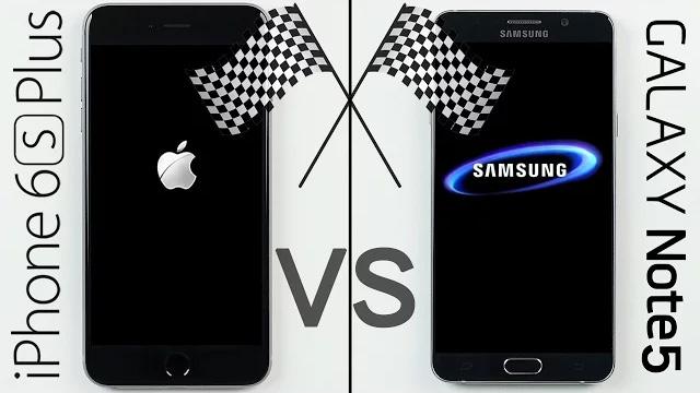 iPhone 6s Plus vs. Galaxy Note 5