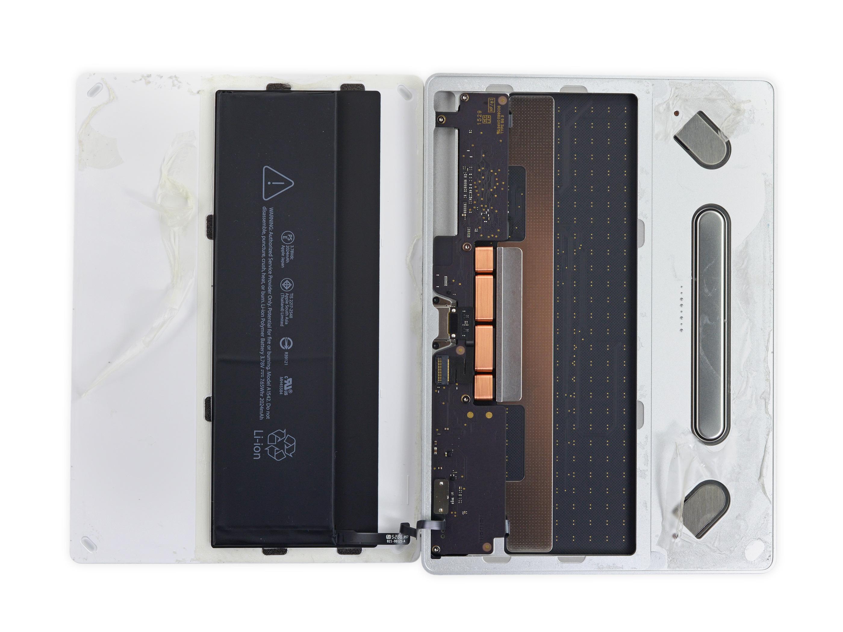 Magic Trackpad 2 desmontado pela iFixit