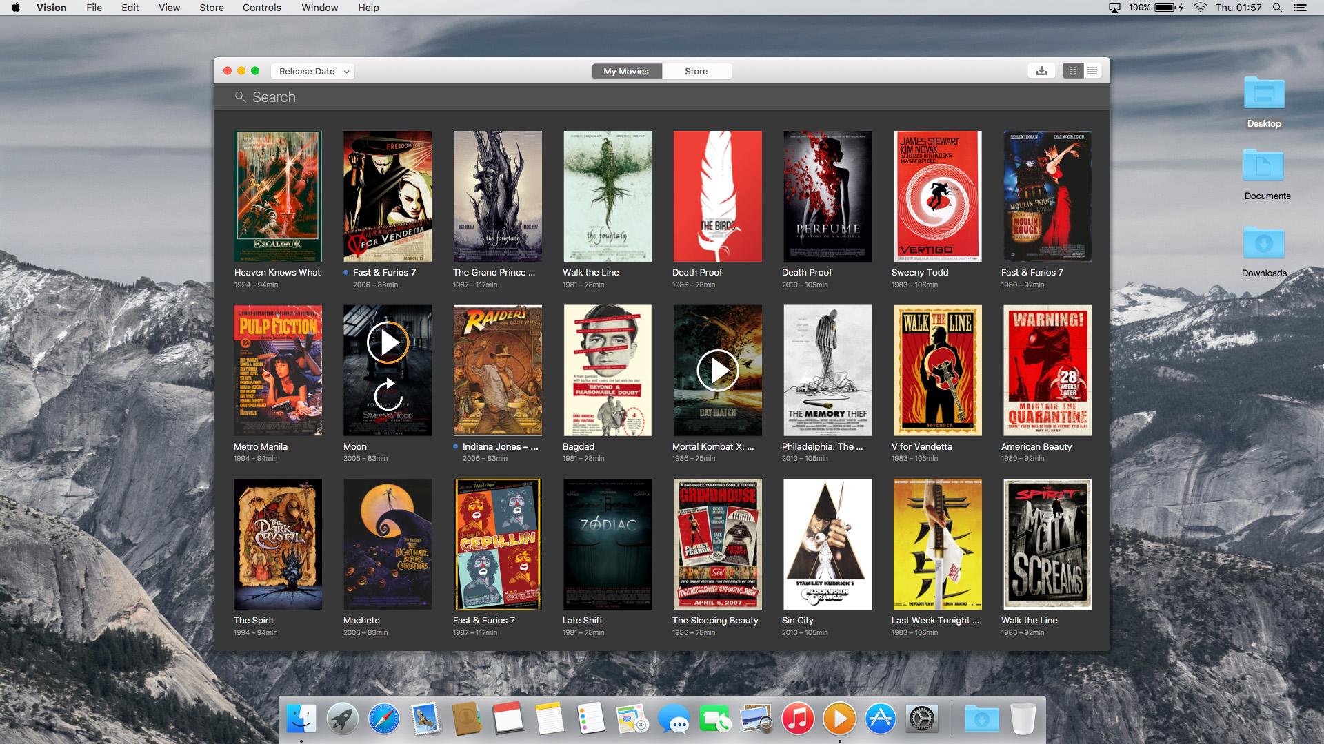 iTunes - Vision