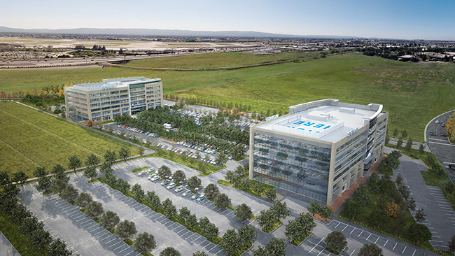 Novo prédio da Apple em San Jose