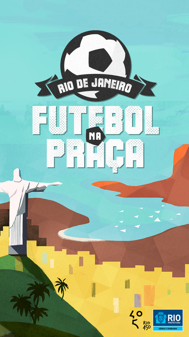 App Futebol na Praça para iOS
