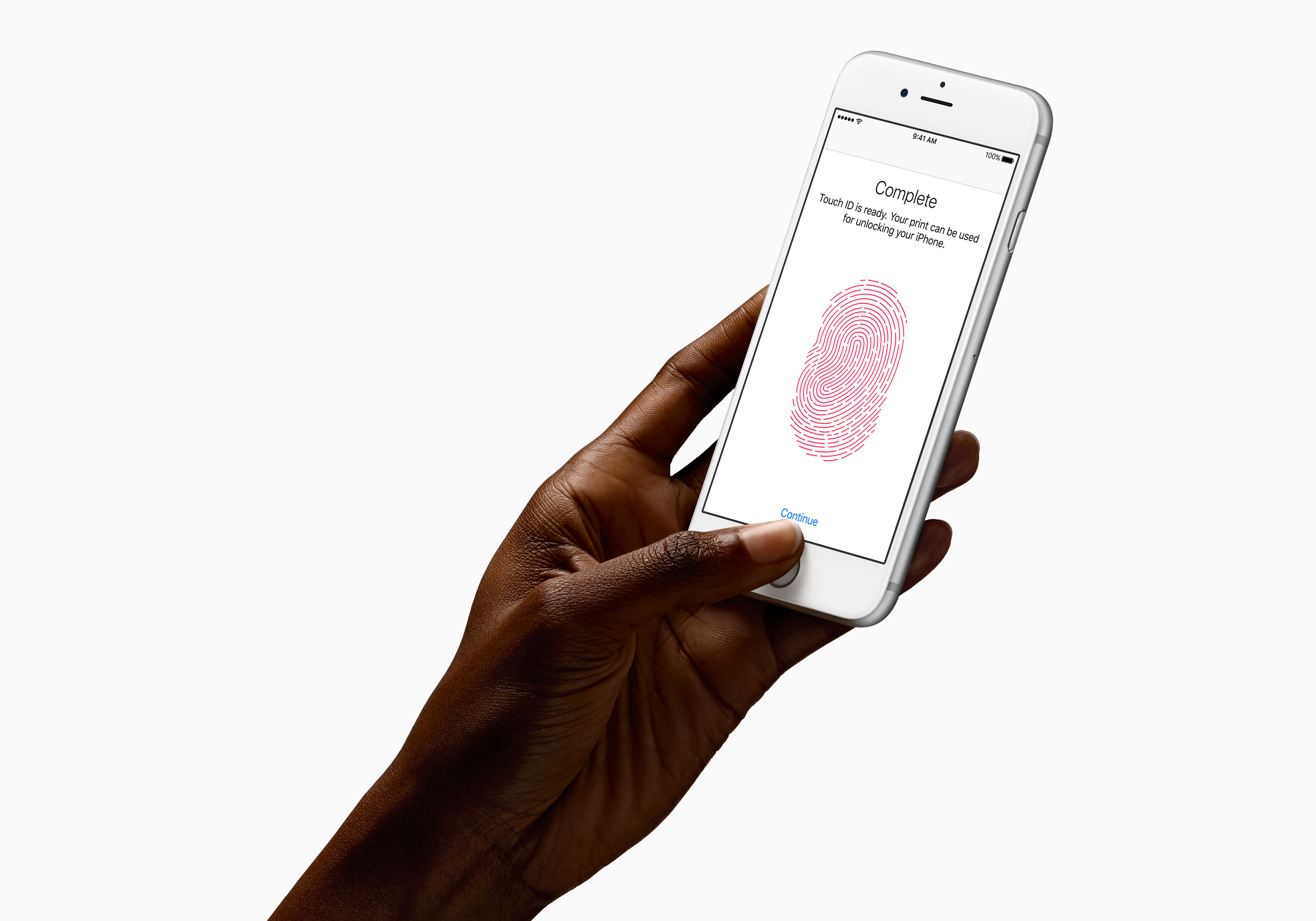 how to set touch id on iphone 6s