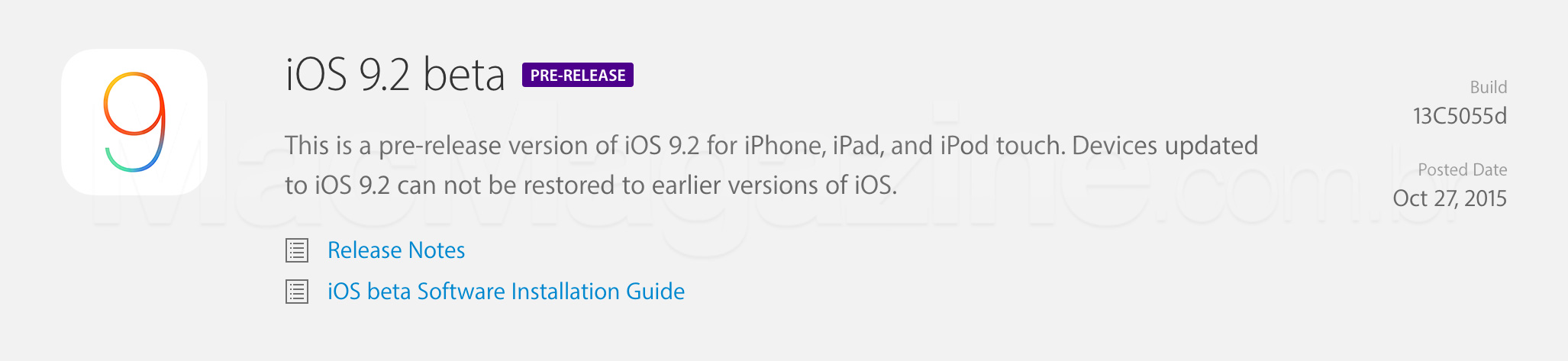iOS 9.2 beta