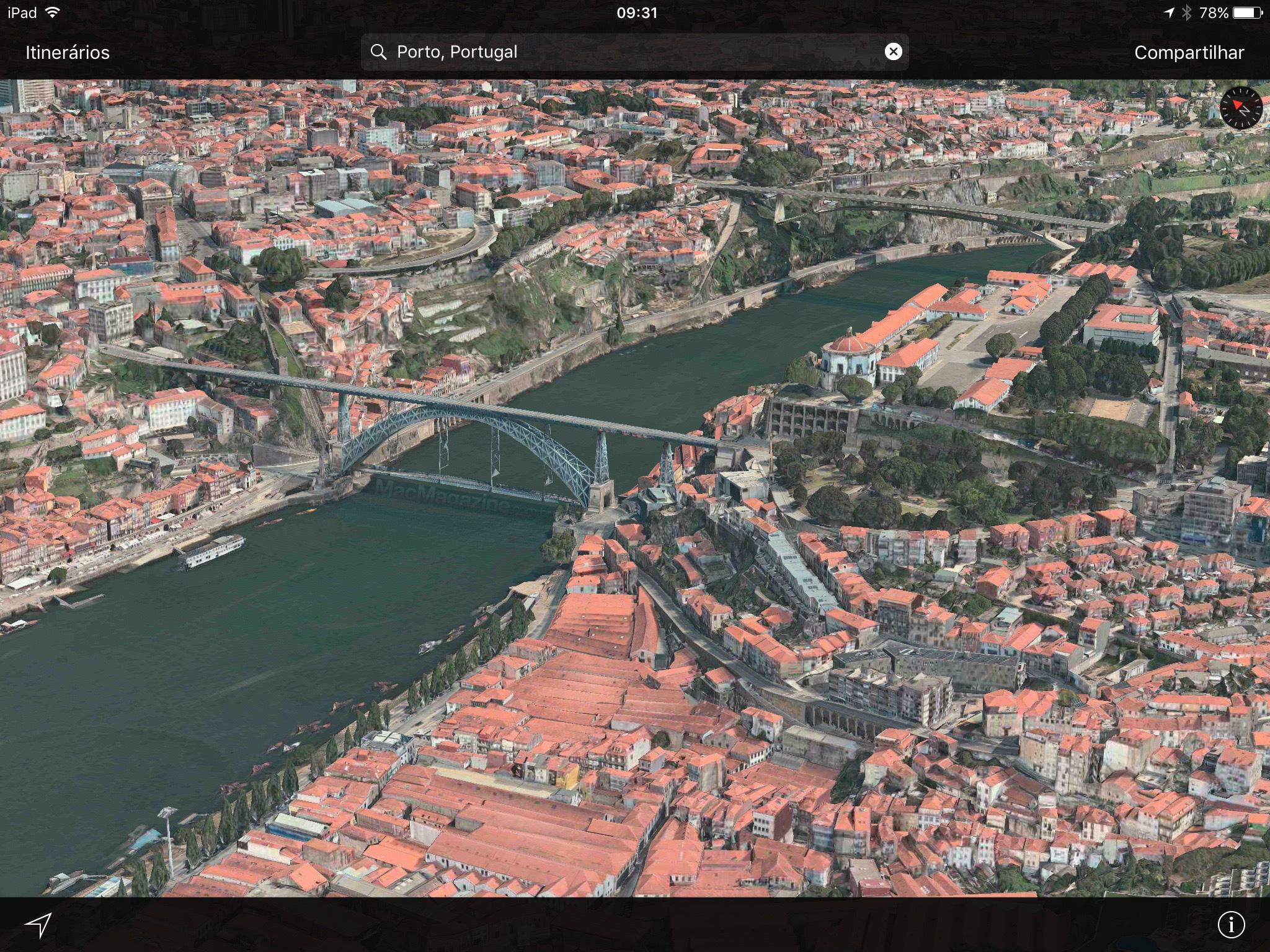Flyover em Porto - Portugal
