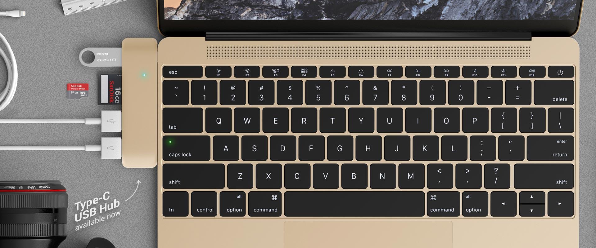 Hub USB-C da Satechi para MacBook