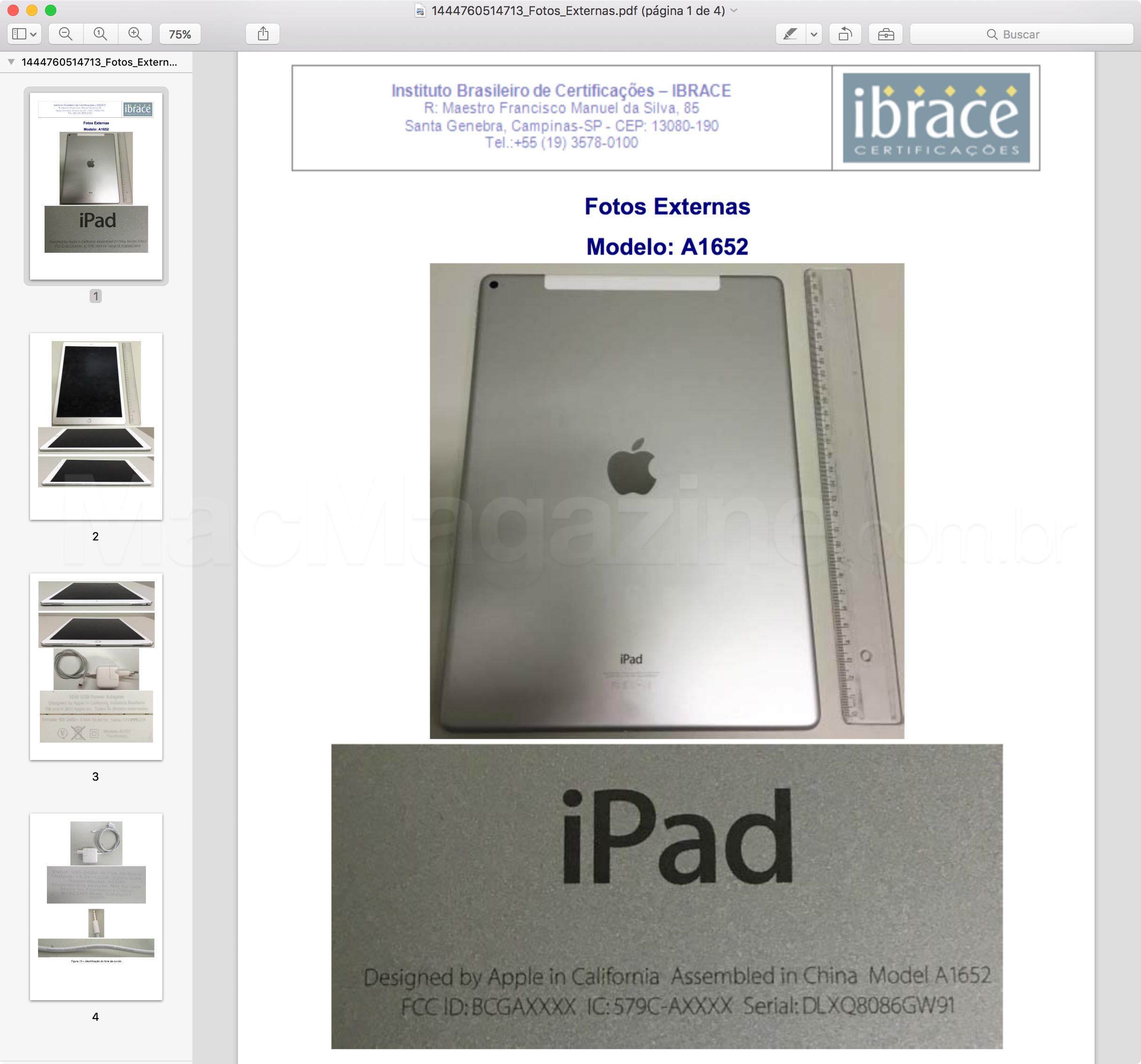 iPad Pro Wi-Fi + Cellular homologado pela Anatel