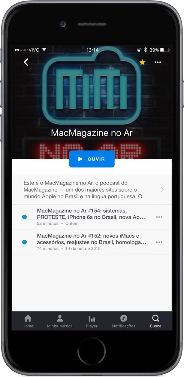 Deezer - Macmagazine no Ar