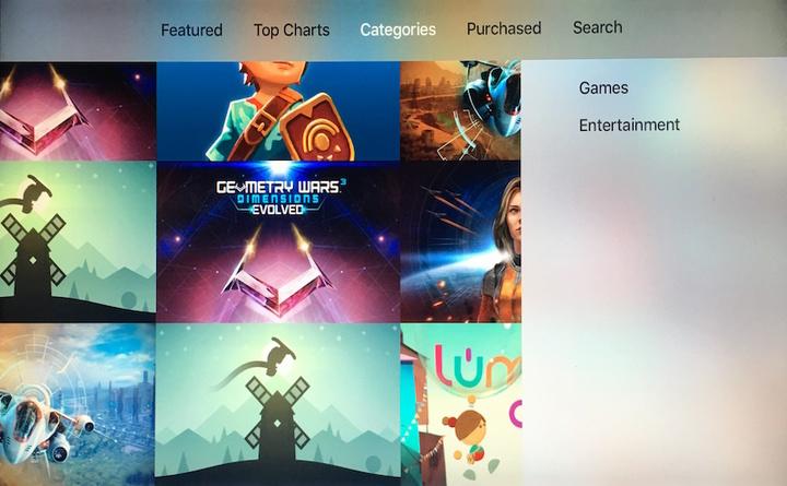 Categorias na App Store