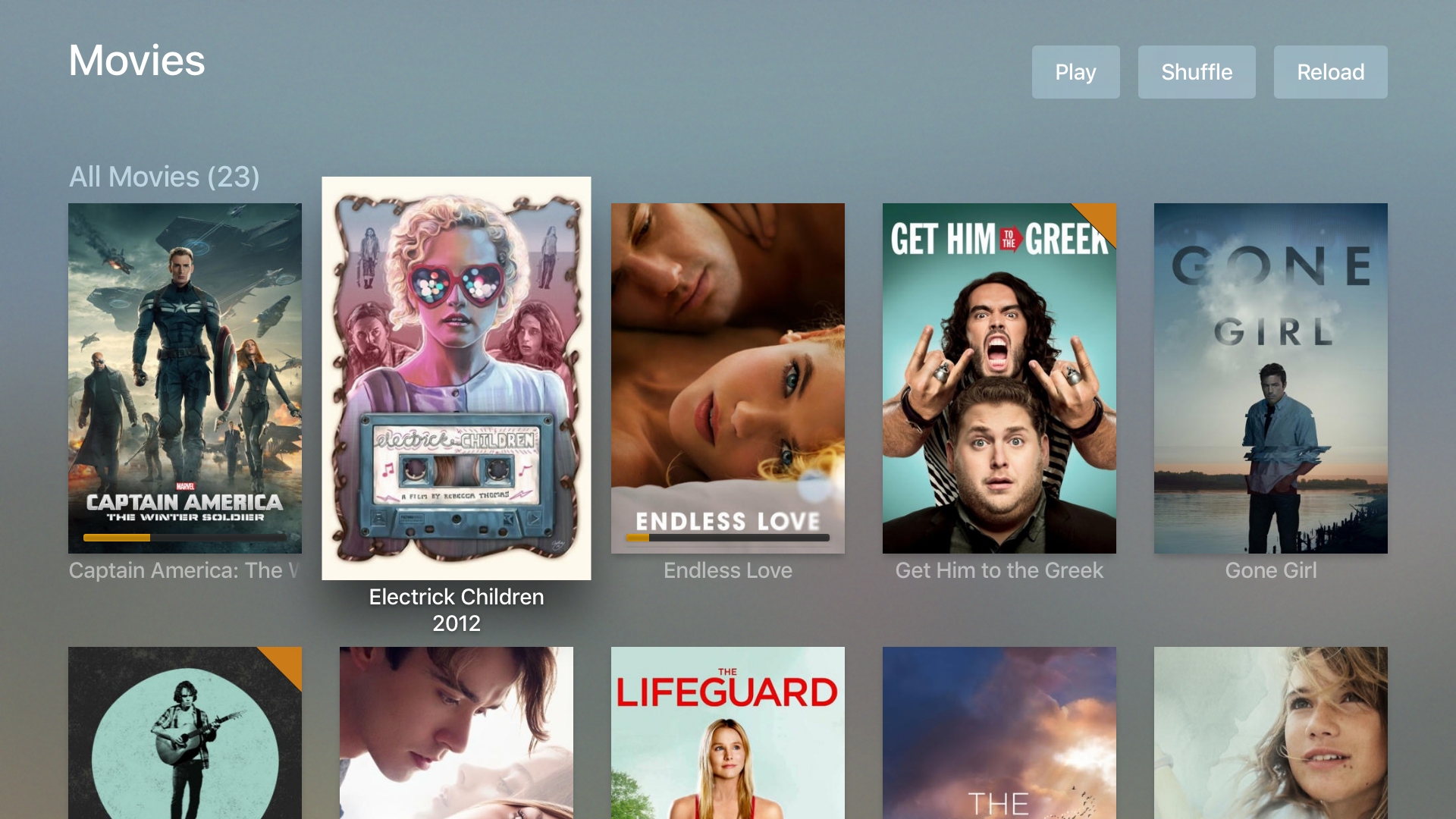 Plex na Apple TV