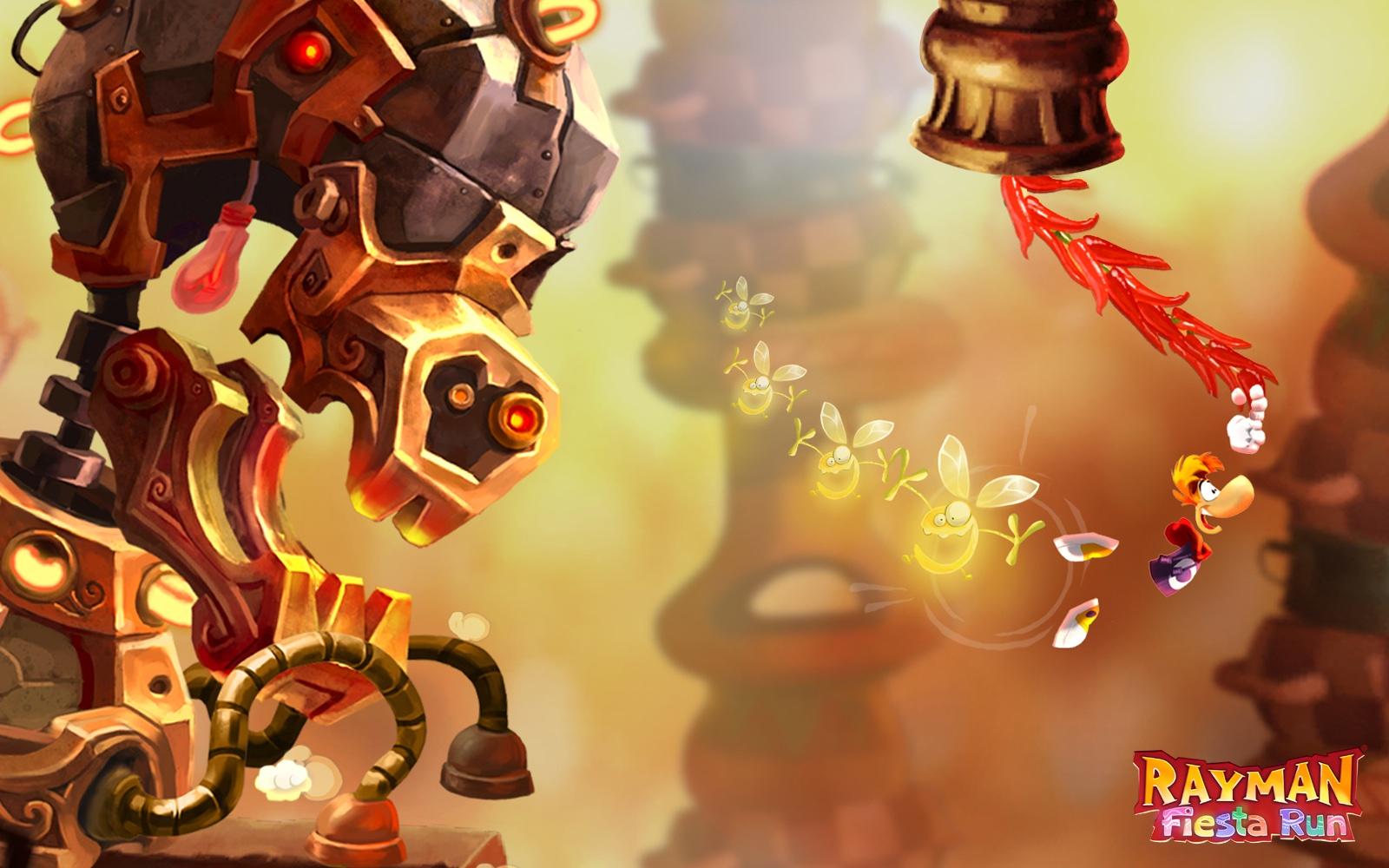 Jogo Rayman Fiesta Run para iOS