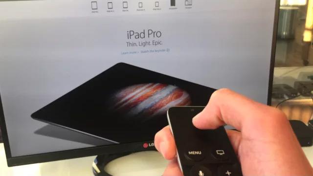 Safari na Apple TV
