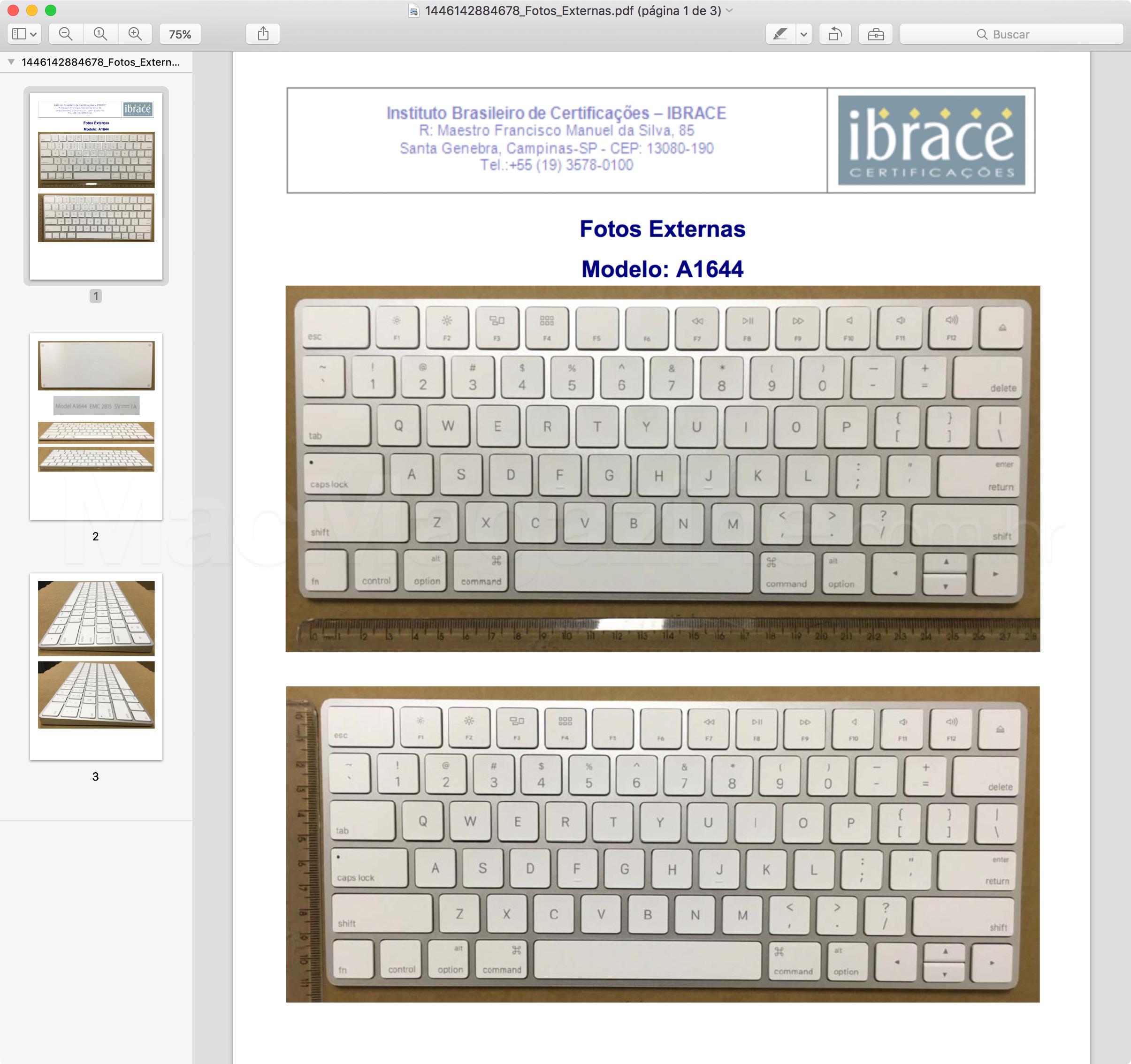 Anatel homologa Magic Keyboard