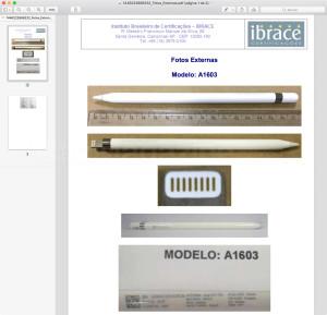 Anatel homologa o Apple Pencil