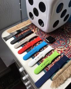 Minhas pulseiras para Apple Watch