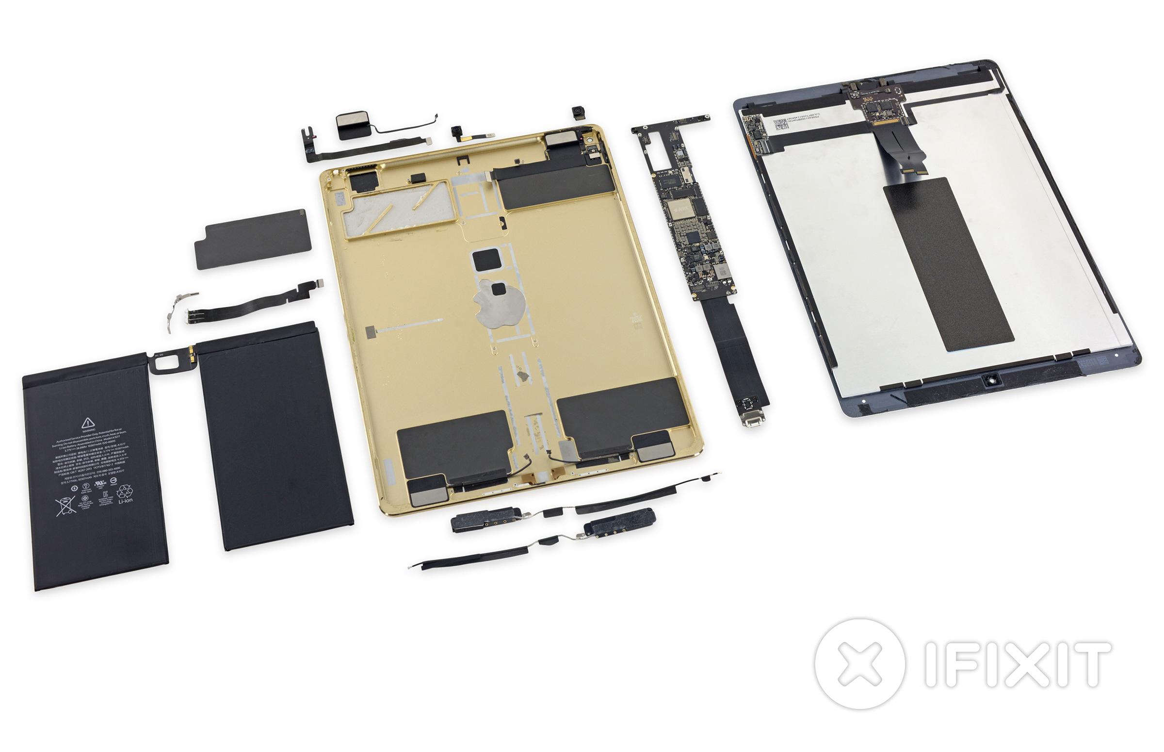 iFixit desmonta o iPad Pro