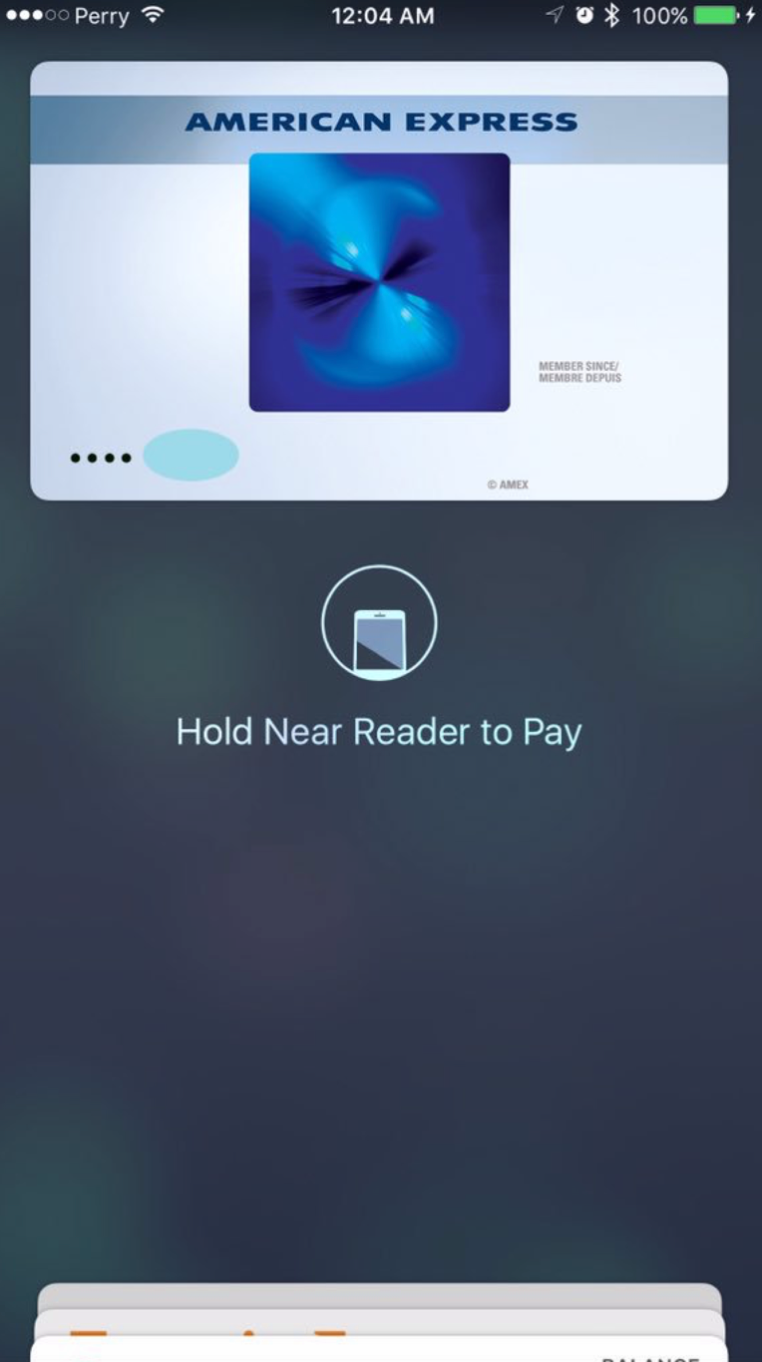Apple Pay no Canadá