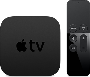Apple TV e Siri Remote para o box