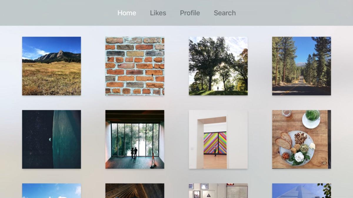 App Tangram na Apple TV